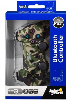 Ovladač Bluetooth PS3 Jungle Camo