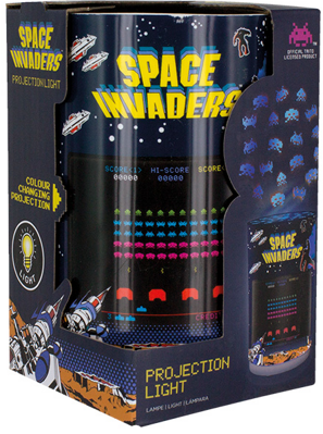 Lampa Space Invaders