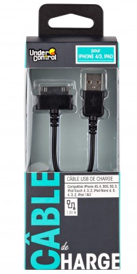 USB kabel iPhone 4/3/iPad