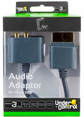 XBOX 360 Audio adaptér
